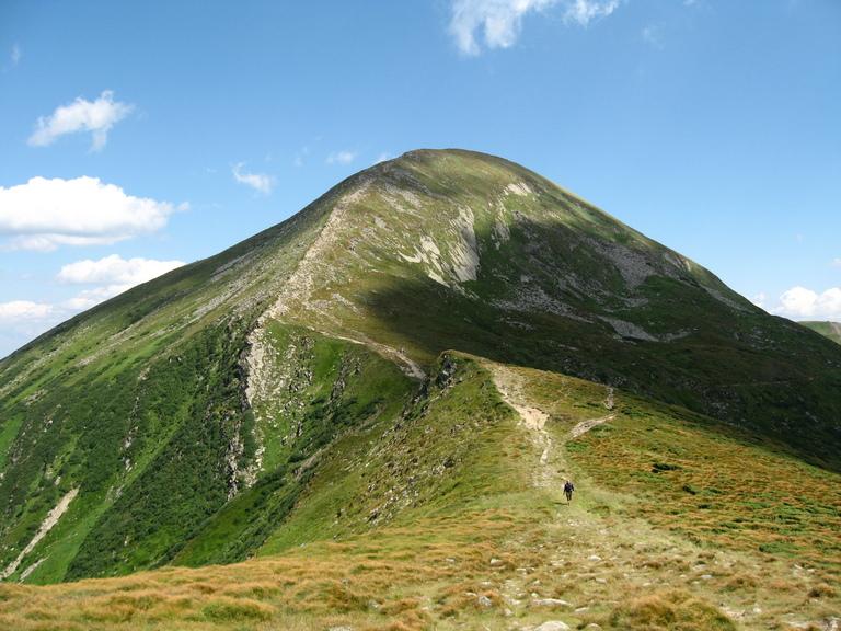 Самые высокие горы в украине