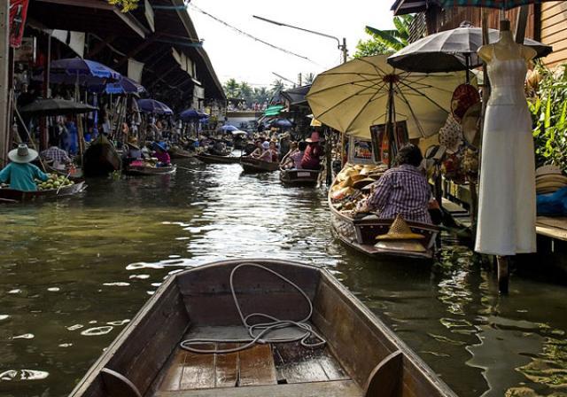 Плавучие рынки Хуа Хина