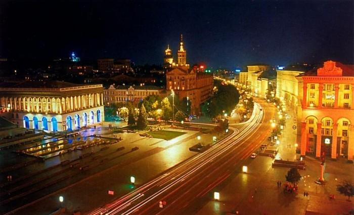 Достопримечательности Киева - Крещатик