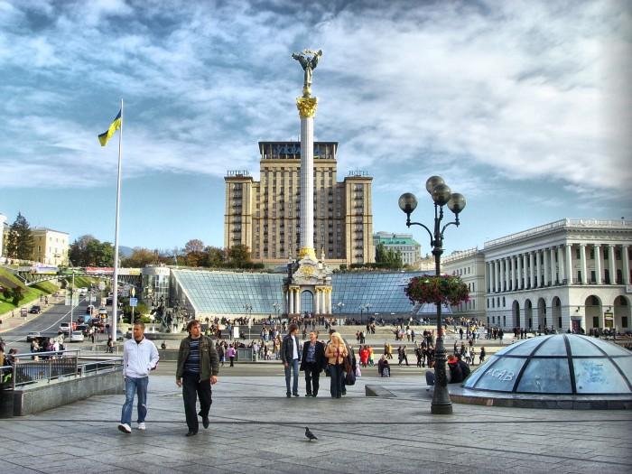 Достопримечательности Киева - Майдан