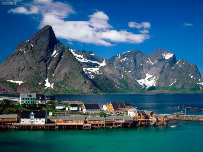 Путешествие по Новегии через страны Скандинавии