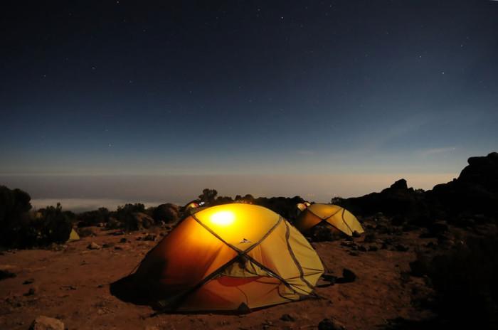 Туризм в палатке