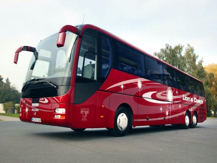 Стоимость заказа туристического автобуса