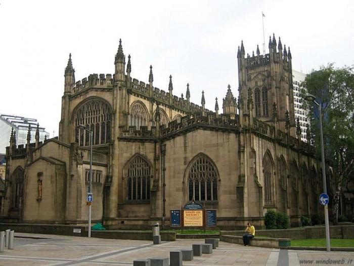 Кафедральный собор в Манчестере