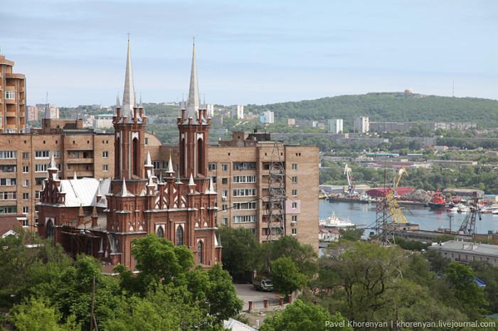 Достопримечательности Владивостока Католический костел