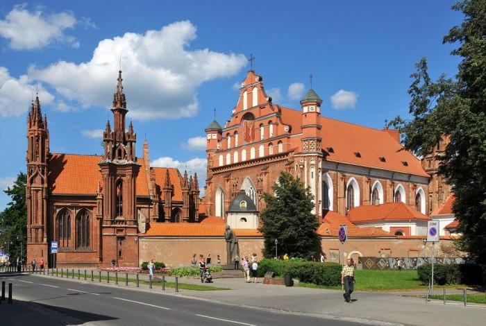 гостиницы в Вильнюсе