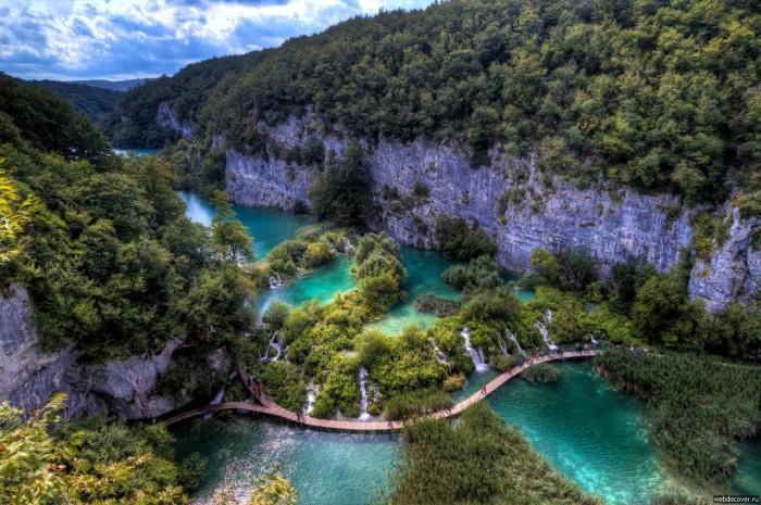 Хорватия - Плитвицкие озера