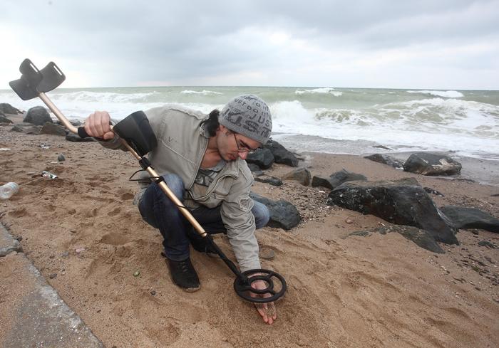 Поиск пляжных «сокровищ»