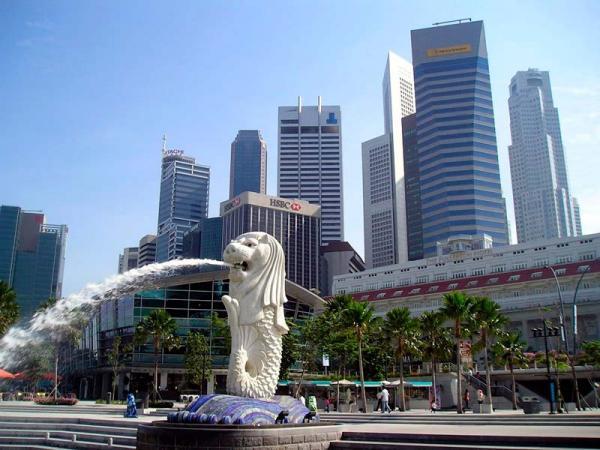 разные части Сенгапура