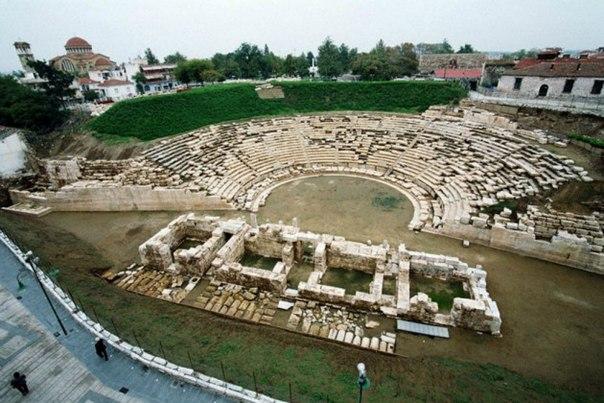 Старый греческий театр