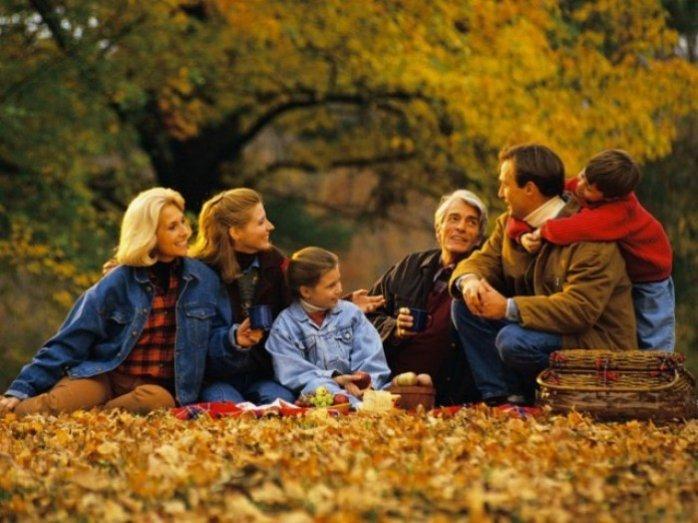 Осенний отдых на природе