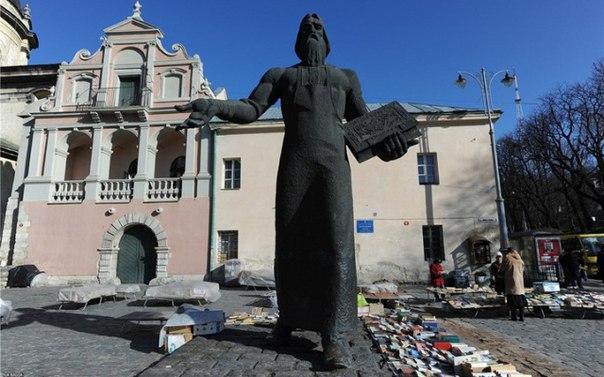 Львовский памятник Федорову