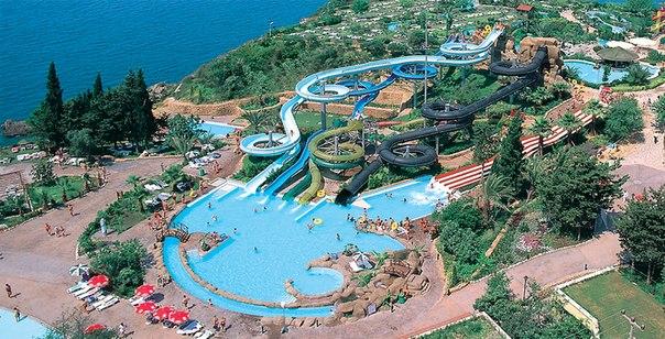 аквапарки в Турции