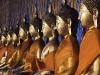 Line of Buddhas, Wat Arun, Bangkok, Thailand