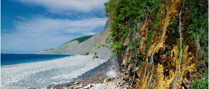 Анапа, Водопад на Большом Урише