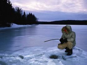 Зимняя рыбалка в Беларуси