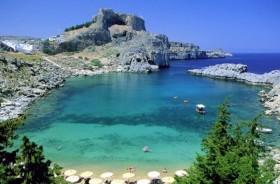 Родос – остров, где целуются два моря