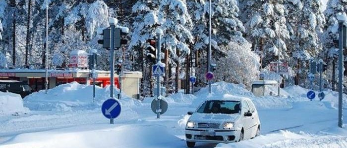 Поездка в Финляндию на автомобиле