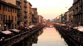 Один из самых романтичных районов Милана - Навильи
