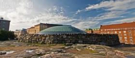 Церковь в скале. Финляндия