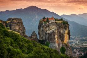 Православные монастыри Метеоры в Греции