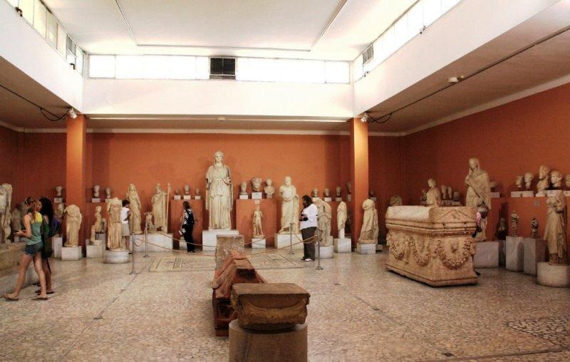 Археологический музей в Ираклионе на острове Крит
