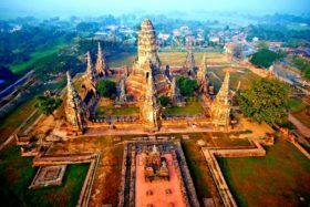 Аюттхая - древний город в Таиланде