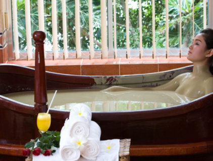 Грязевые ванны Тхап Ба (Thap Ba) в Нячанге