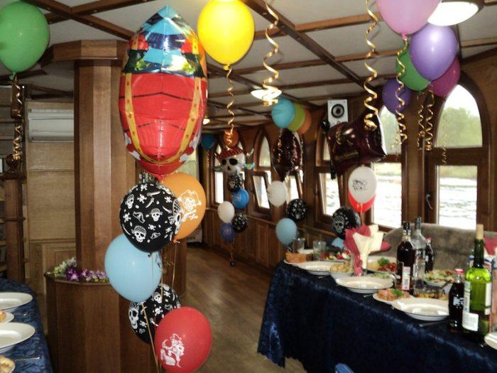 День рождения за границей на яхте