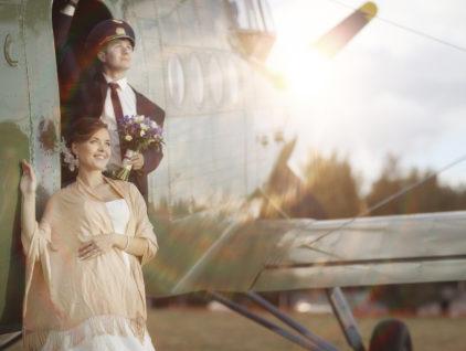 Свадьба в самолете