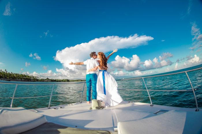 Прогулка на яхте в Гваделупе